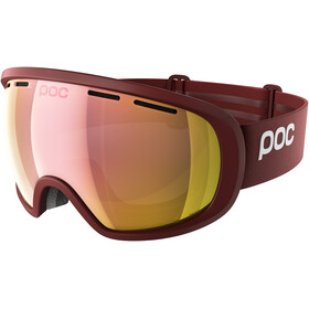 POC Fovea Clarity Goggles Lactose Red/Spektris Rose Gold